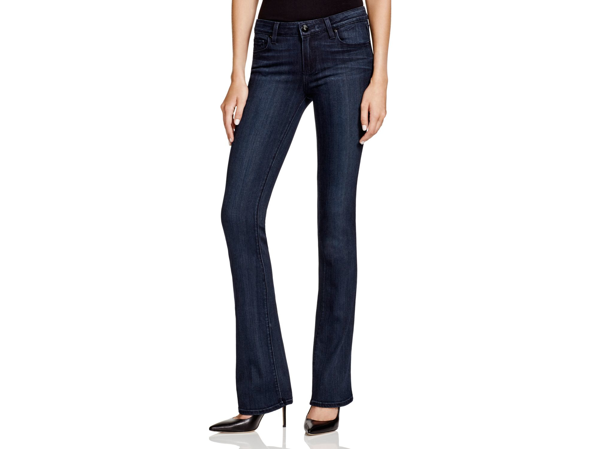 Image result for dark wash bootcut jeans