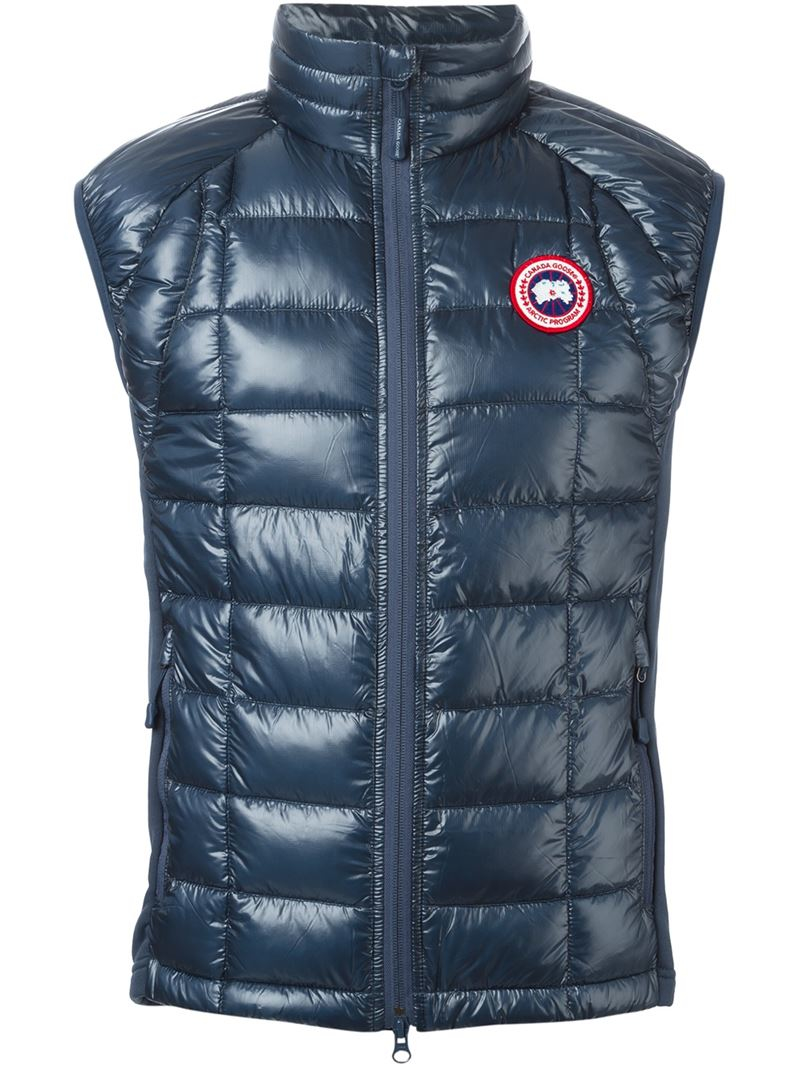 Canada Goose Hybridge Gilet In Blue For Men Lyst