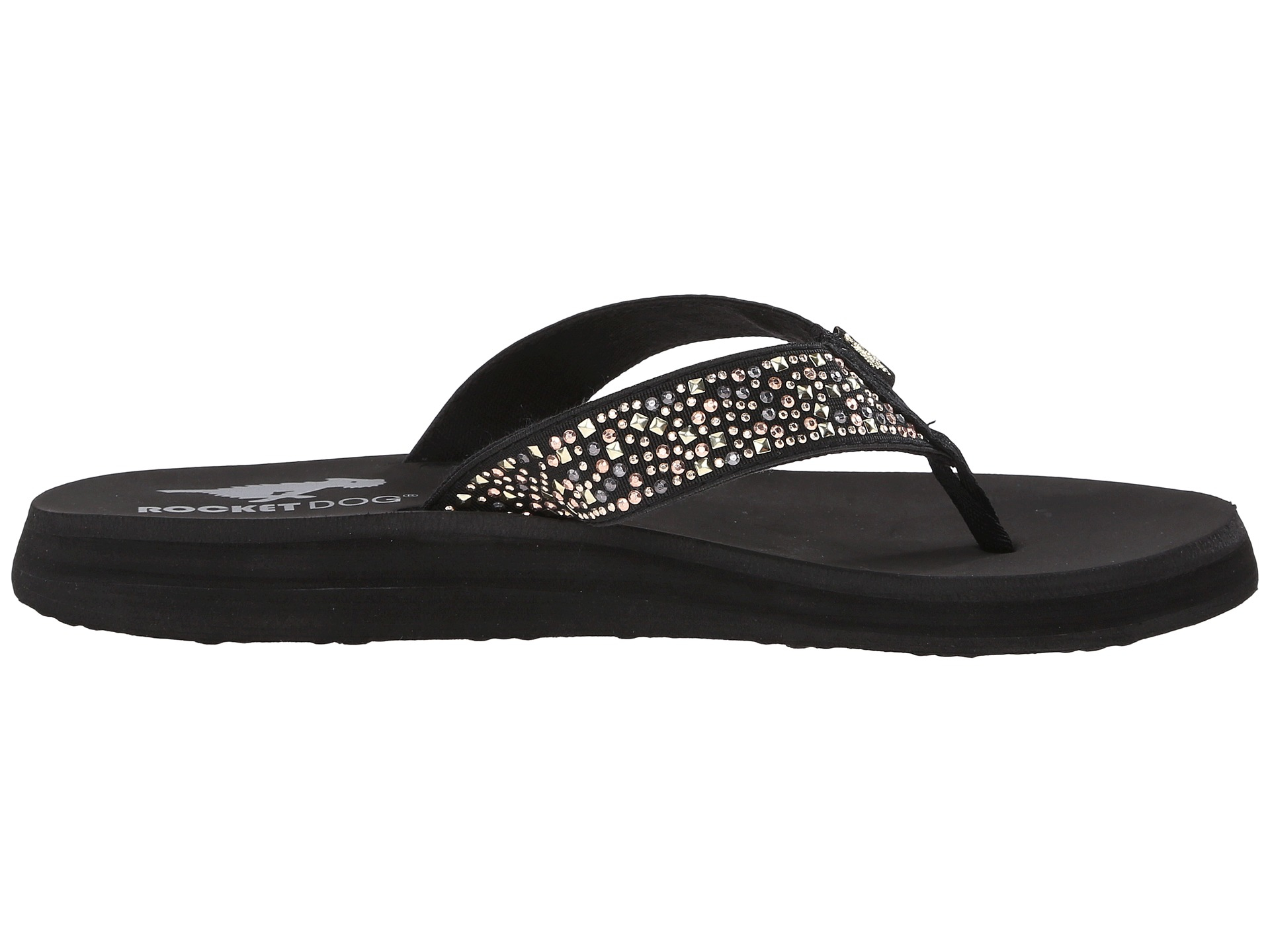 Womens Sandals Rocket Dog Nina Comfort Black Eclipse