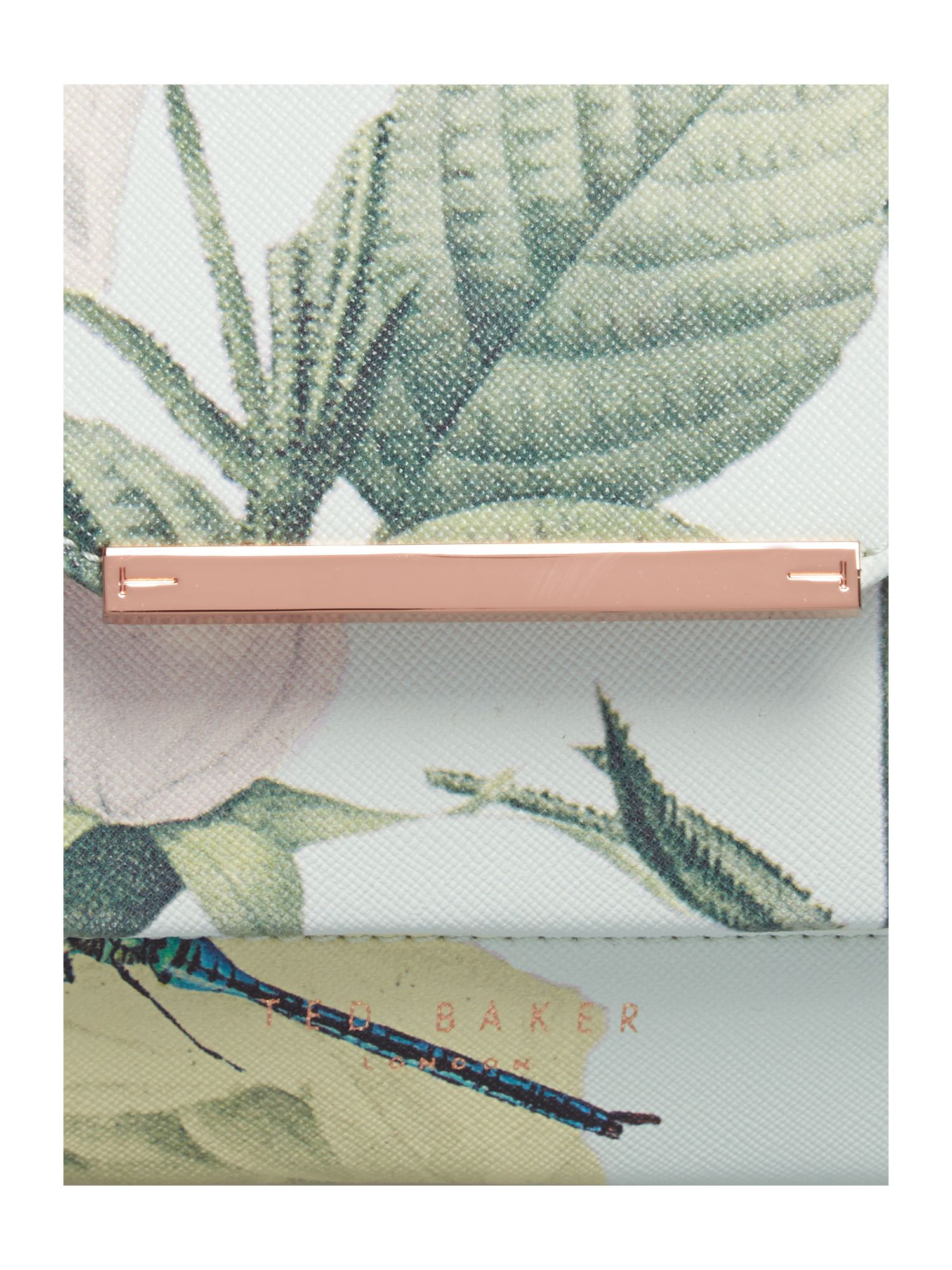 Ted Baker Mint Distinguished Rose Lady Cross Body Bag in Green