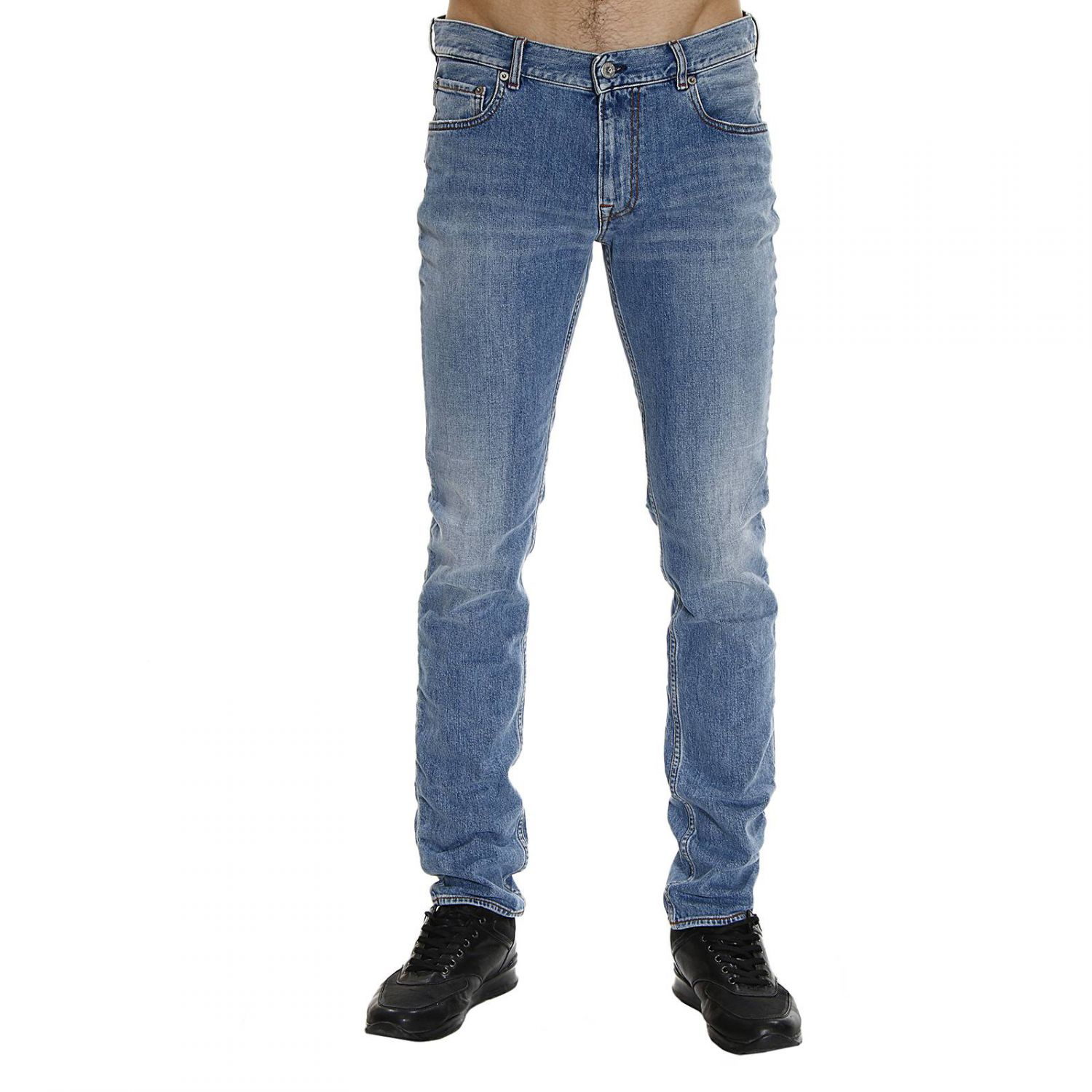 lyst stone island jeans denim used skynni 11 once in. Black Bedroom Furniture Sets. Home Design Ideas