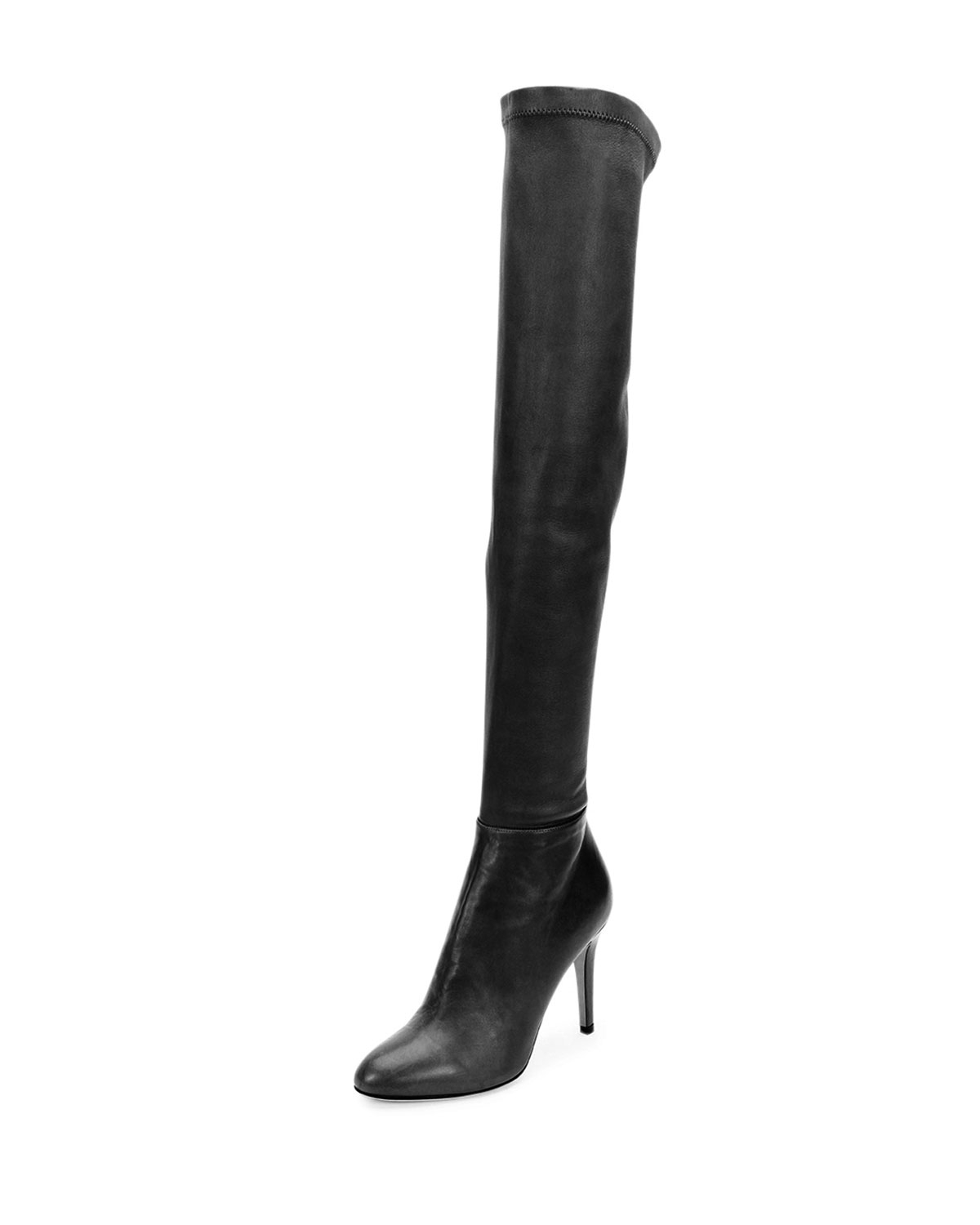 13cc7a120e3 Lyst - Jimmy Choo Toni Stretch-Napa Over-The-Knee Boot in Black
