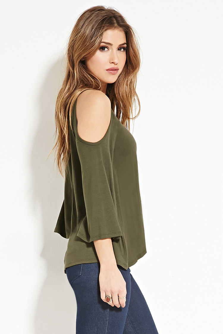 size 40 multiple colors crazy price Open-shoulder Top You've Been Added To The Waitlist