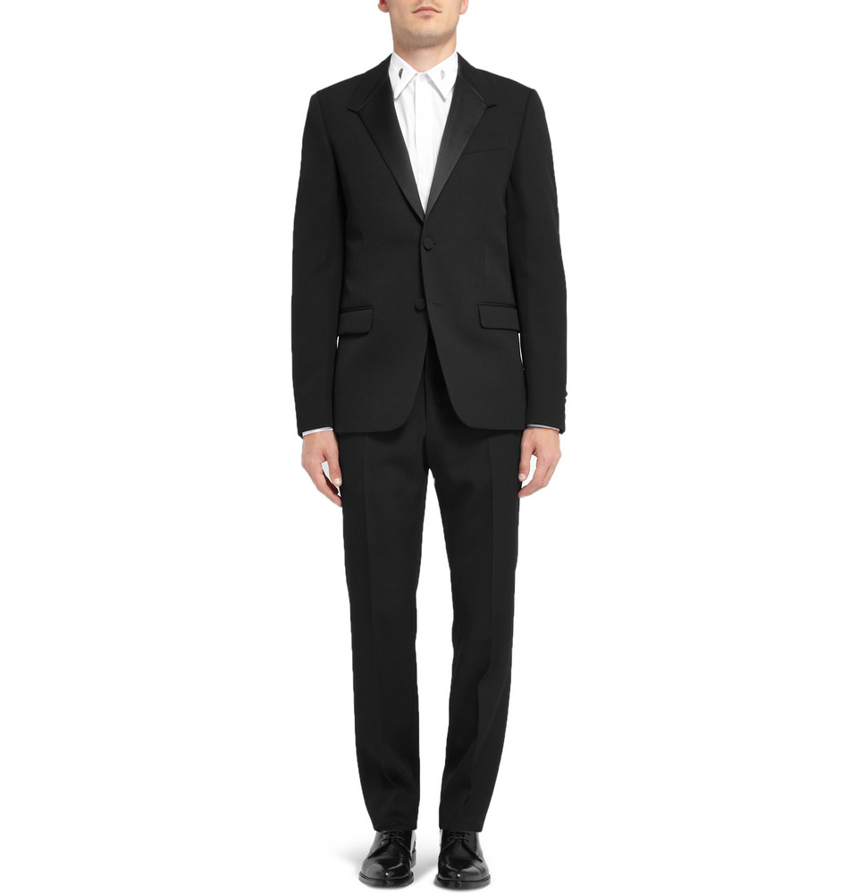 Givenchy Polished Leather Oxford Shoes in Black for Men
