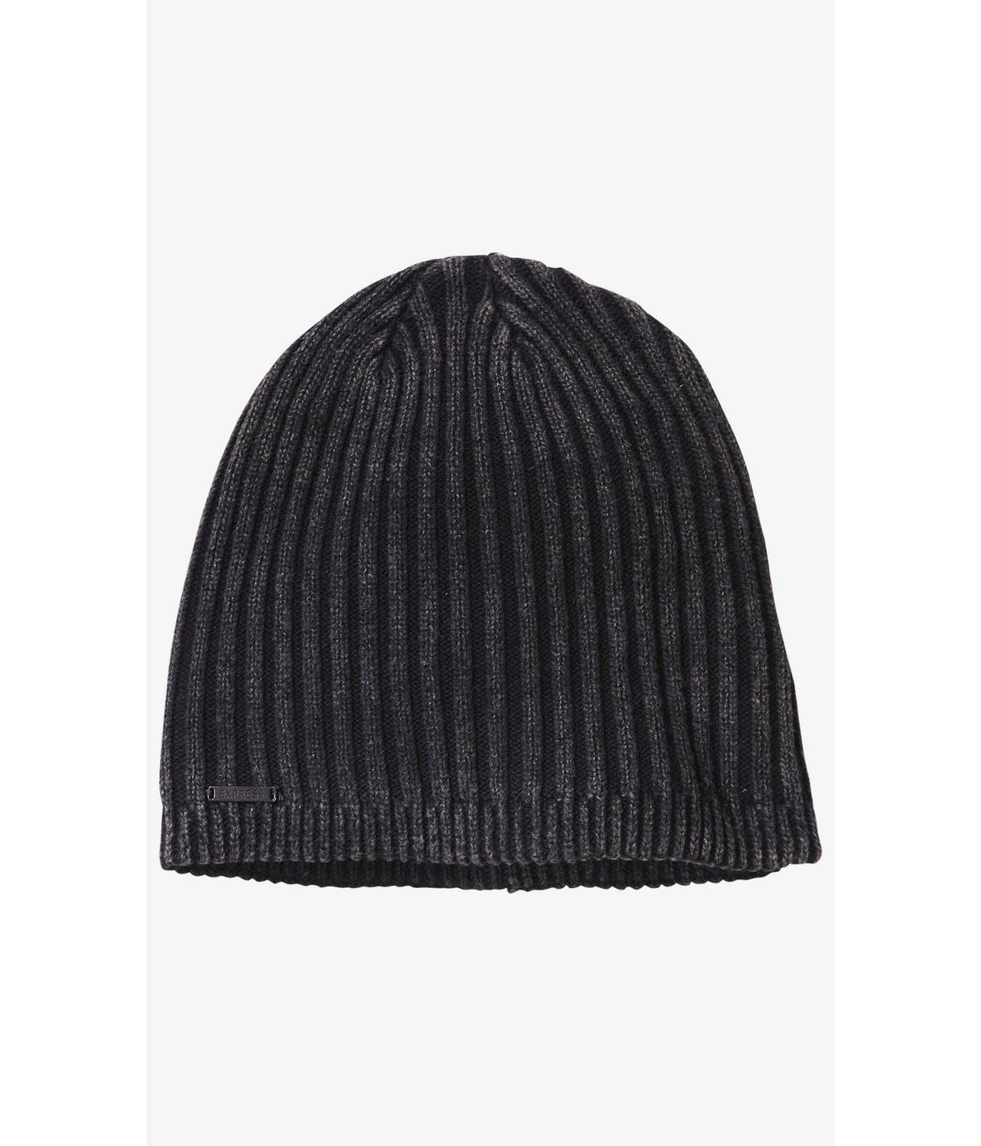 Lyst express acid wash ribbed beanie in black for men for Express wash roma