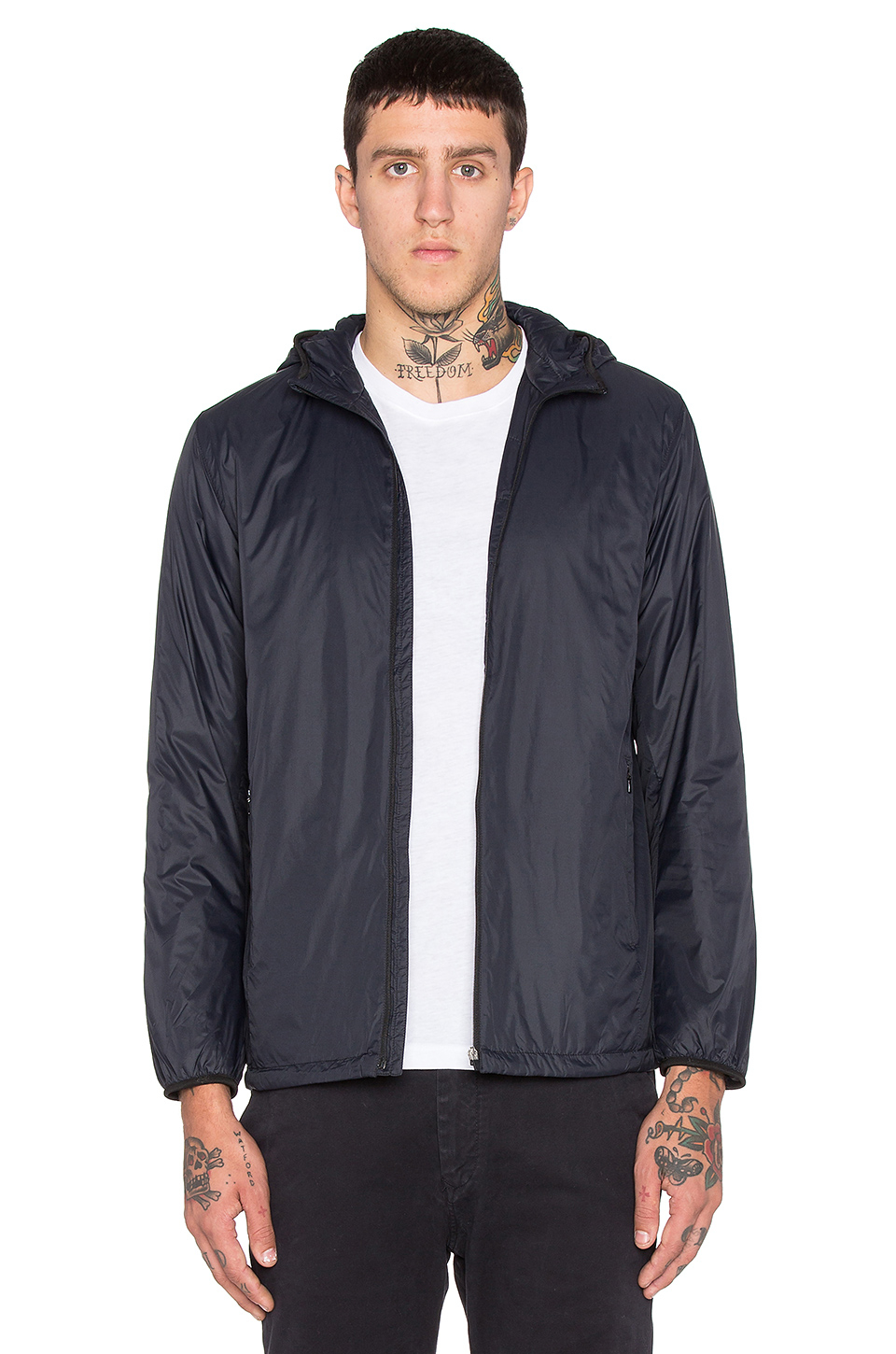 Lyst - Norse projects Hugo Light Jacket in Black for Men
