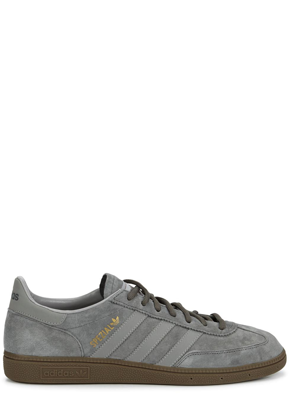 personal Decisión Ardilla  adidas Originals Spezial Grey Suede Trainers in Silver (Metallic) for Men -  Lyst