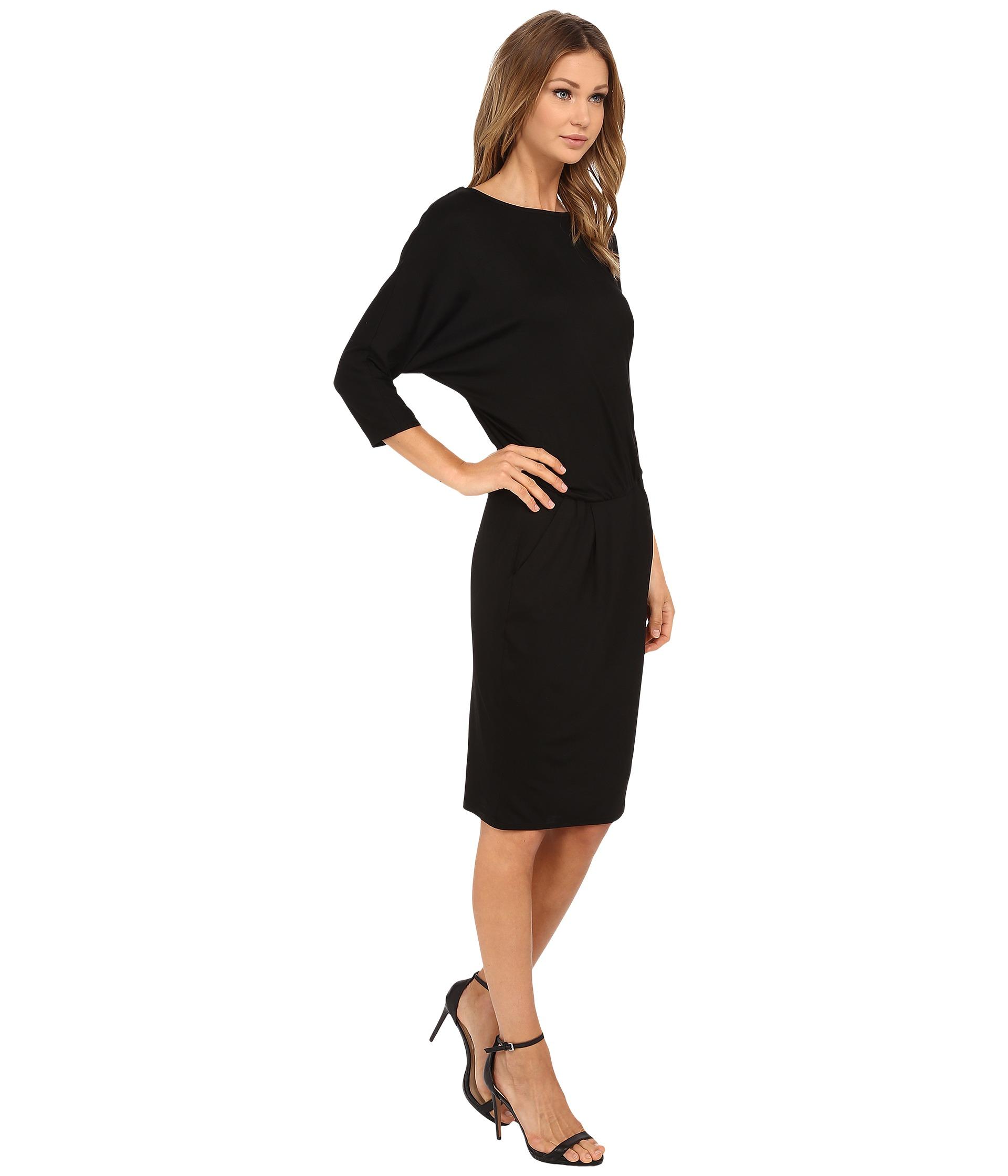 Trina turk Lawson Dress in Black - Lyst