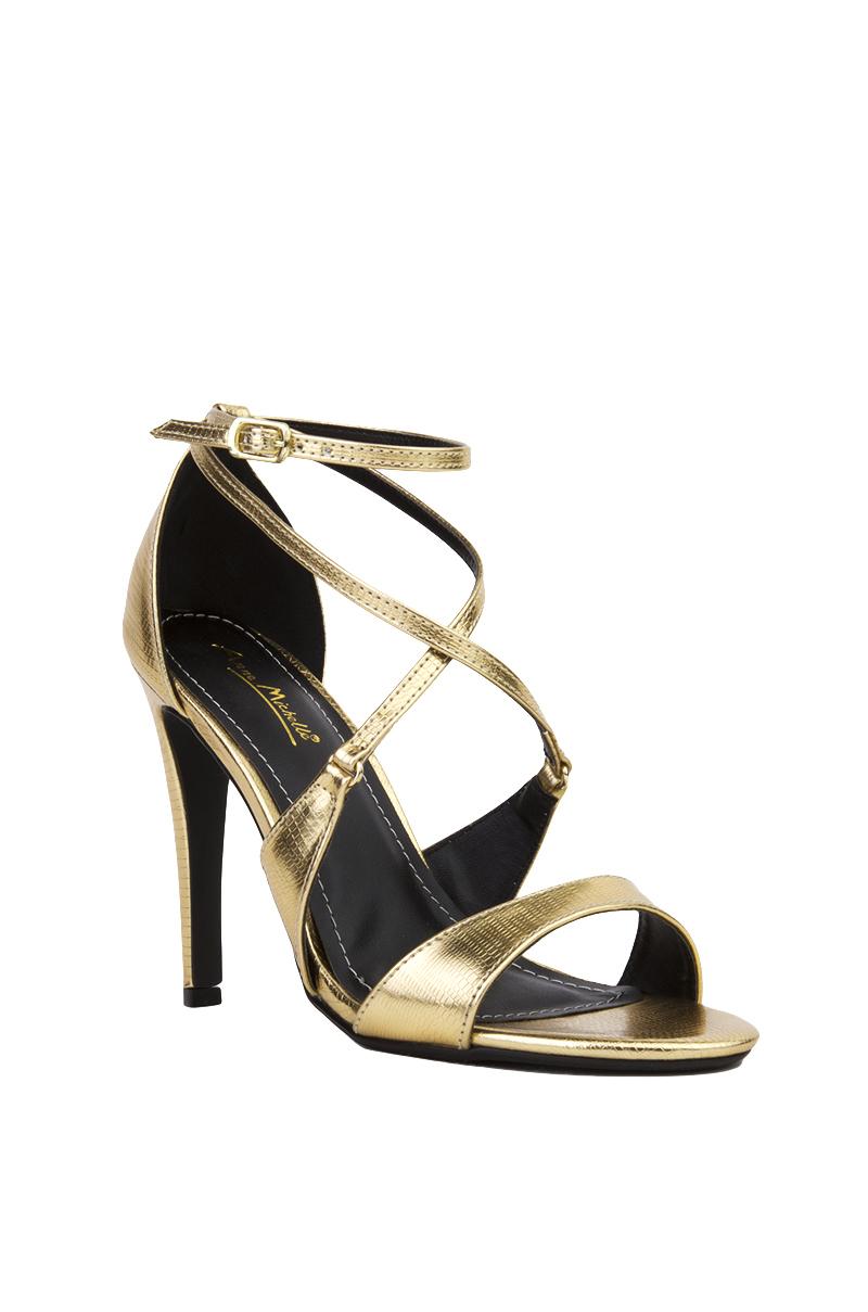 Open Toe Ankle Strap Sandal Heels