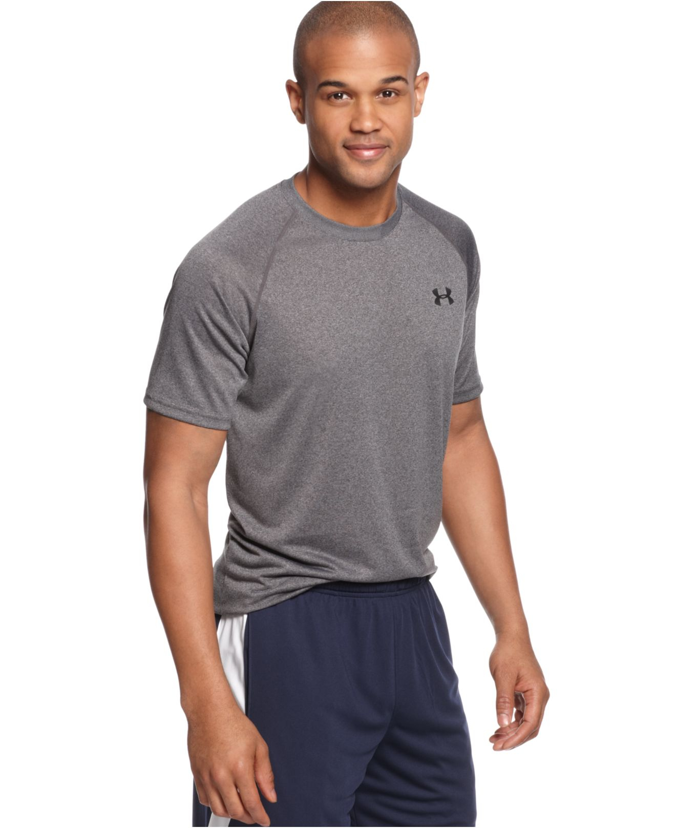 Under Armour Men 39 S Tech T Shirt In Black For Men Carbon