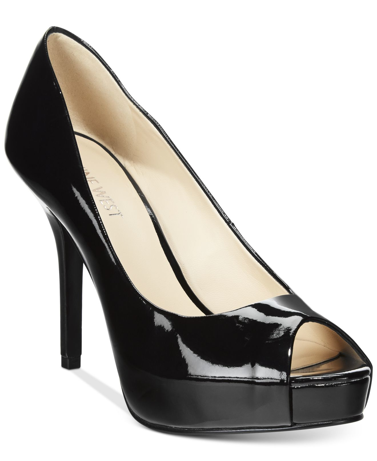 nine west open toe shoes inexpensive