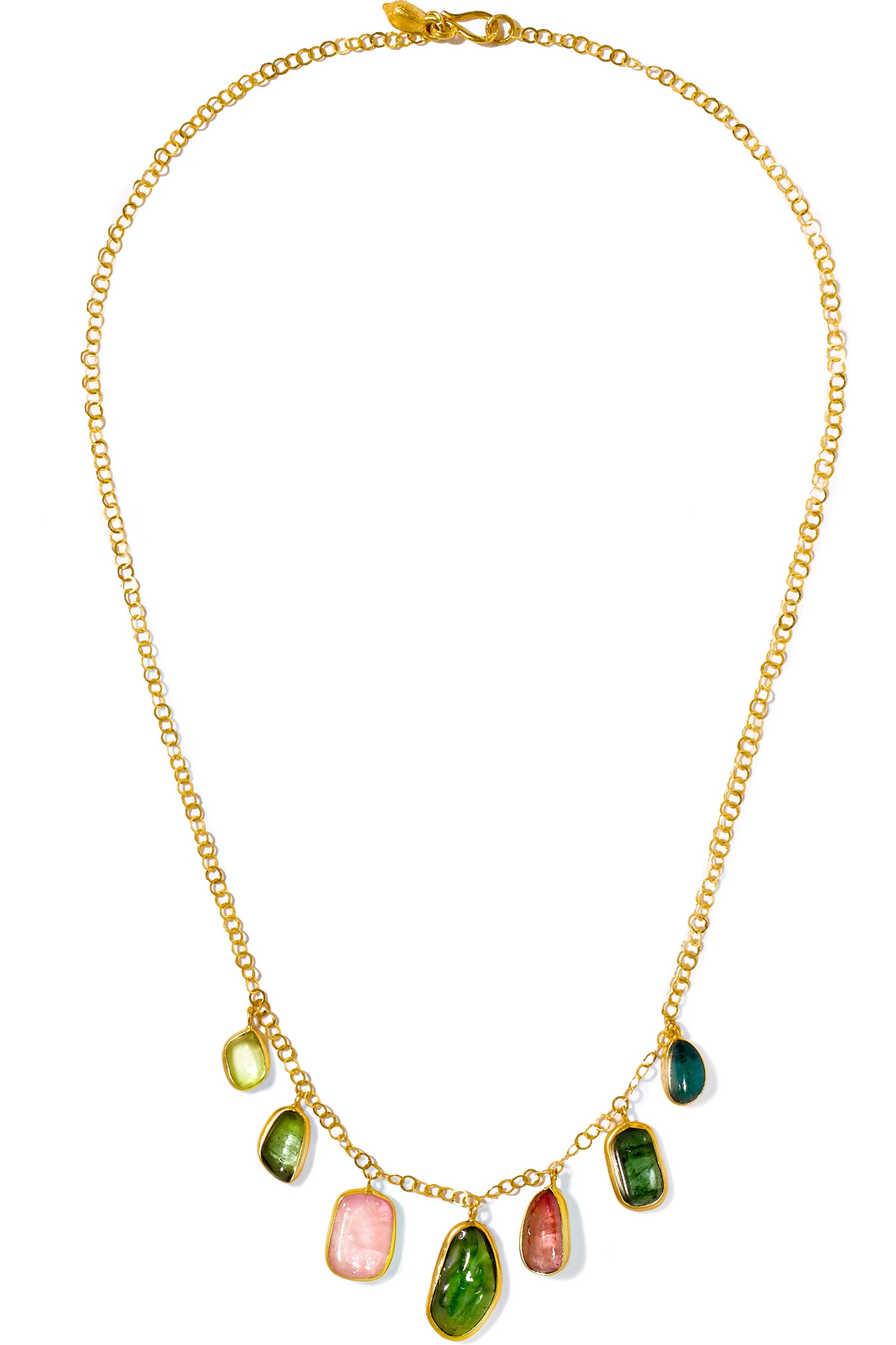 Pippa Small 18-karat Gold Spinel Necklace GZbrrd