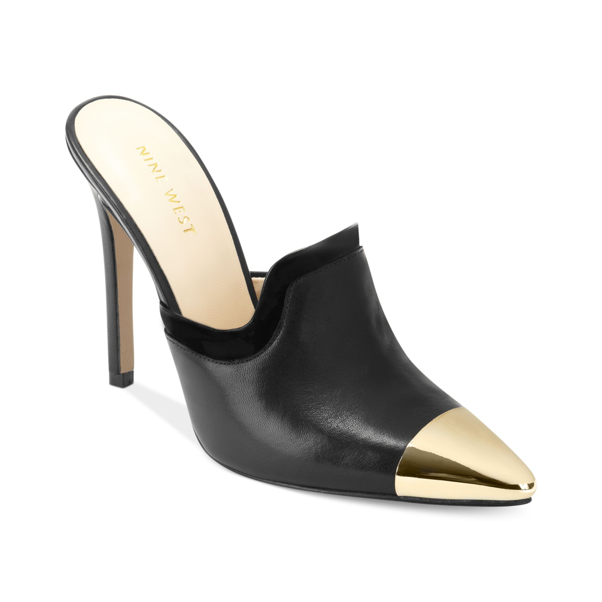 Nine west Girlface Mules in Black