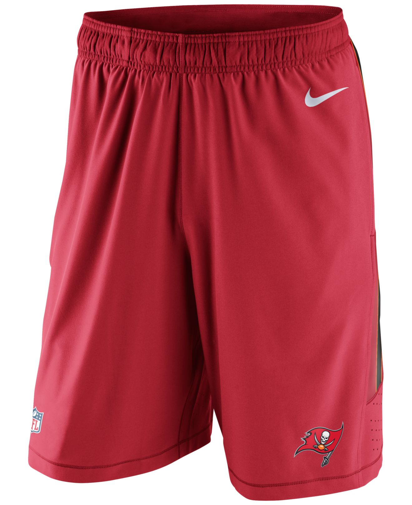 Nike Men S Tampa Bay Buccaneers Speed Vent Shorts In Red