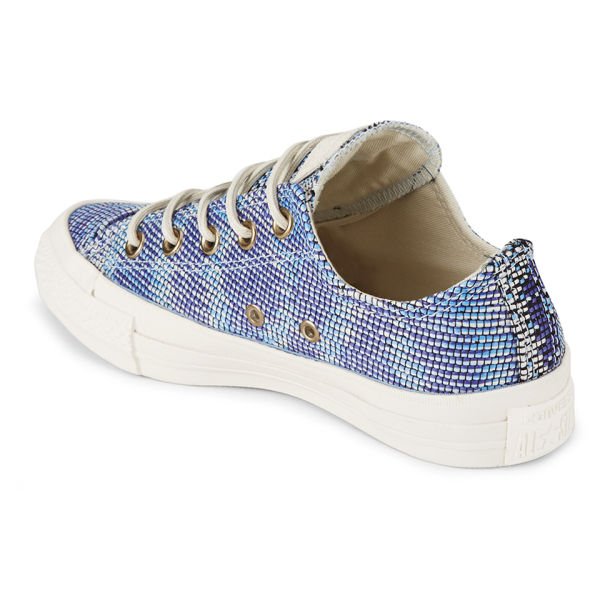 7d508c978c77 Converse Women S Chuck Taylor All Star Woven Multi Panel Ox Trainers - Lyst