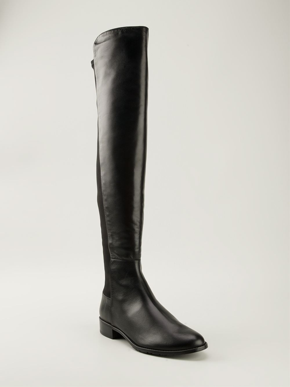 stuart weitzman classic knee high boots in black lyst