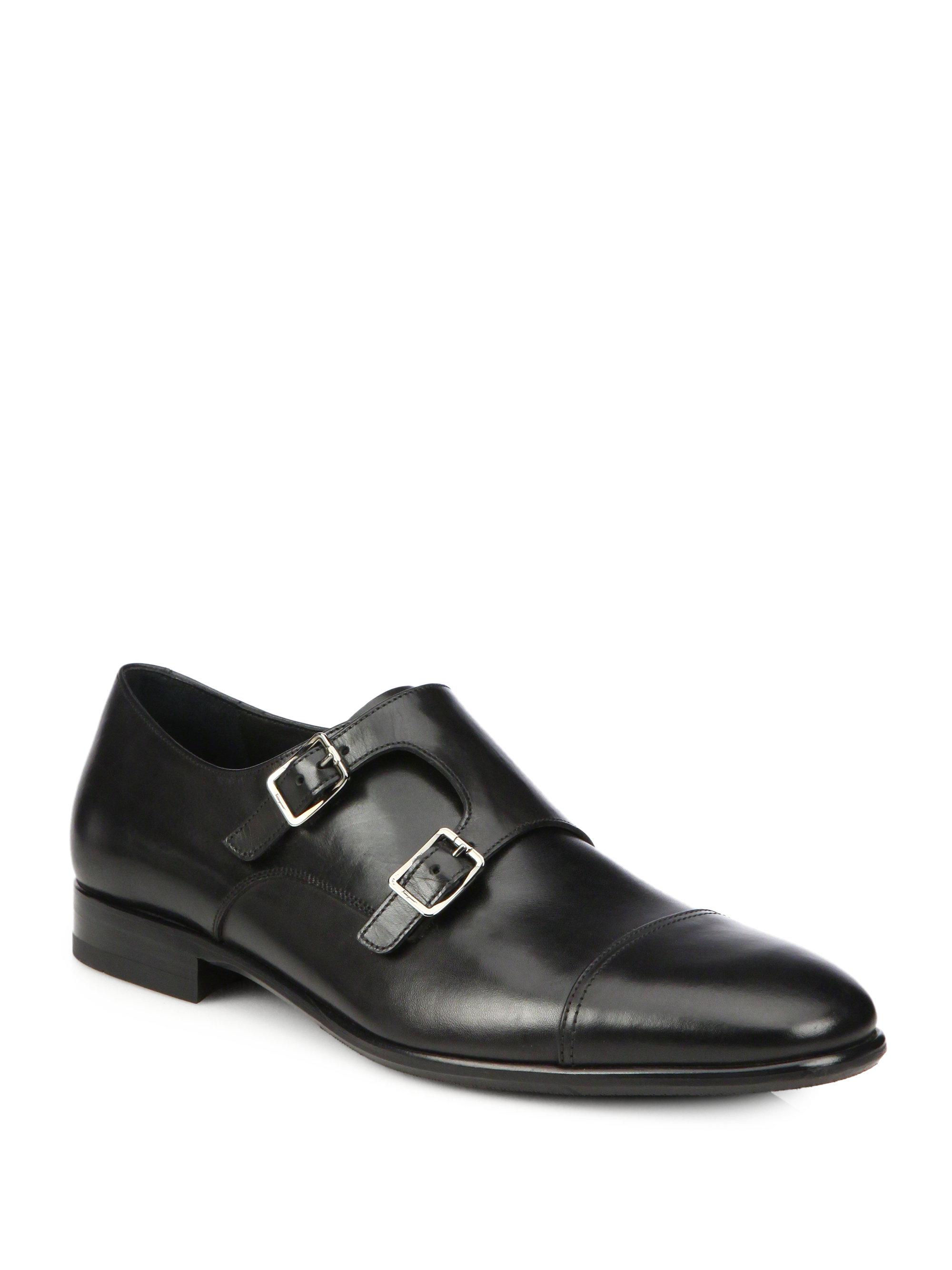 Ferragamo Ferragamo Mens Shoes In Black For Men Lyst
