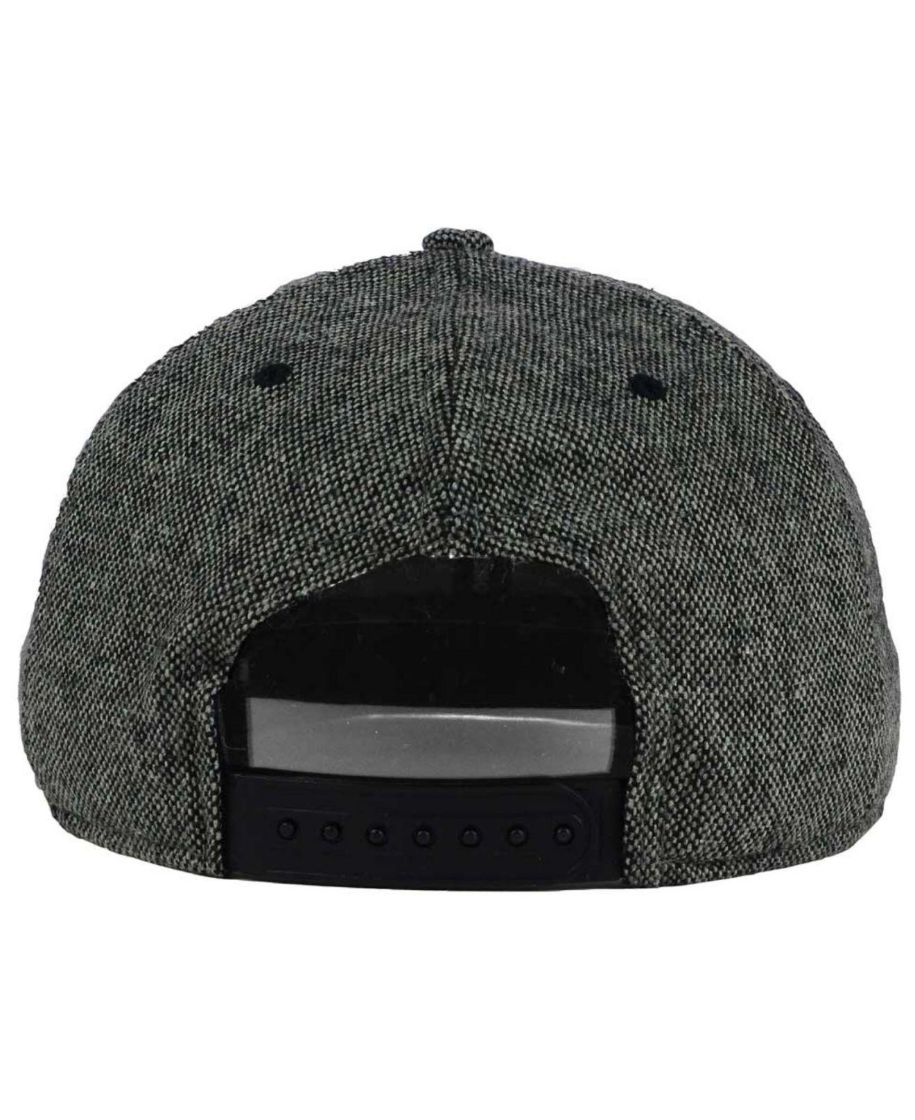 brand new a4f17 14fc1 ... netherlands lyst nike oregon ducks true tweed snapback cap in black for  men 1f7d7 75fed