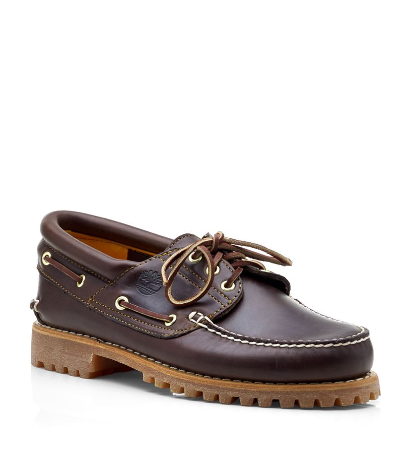 timberland 3 eye classic shoe in brown for men lyst. Black Bedroom Furniture Sets. Home Design Ideas