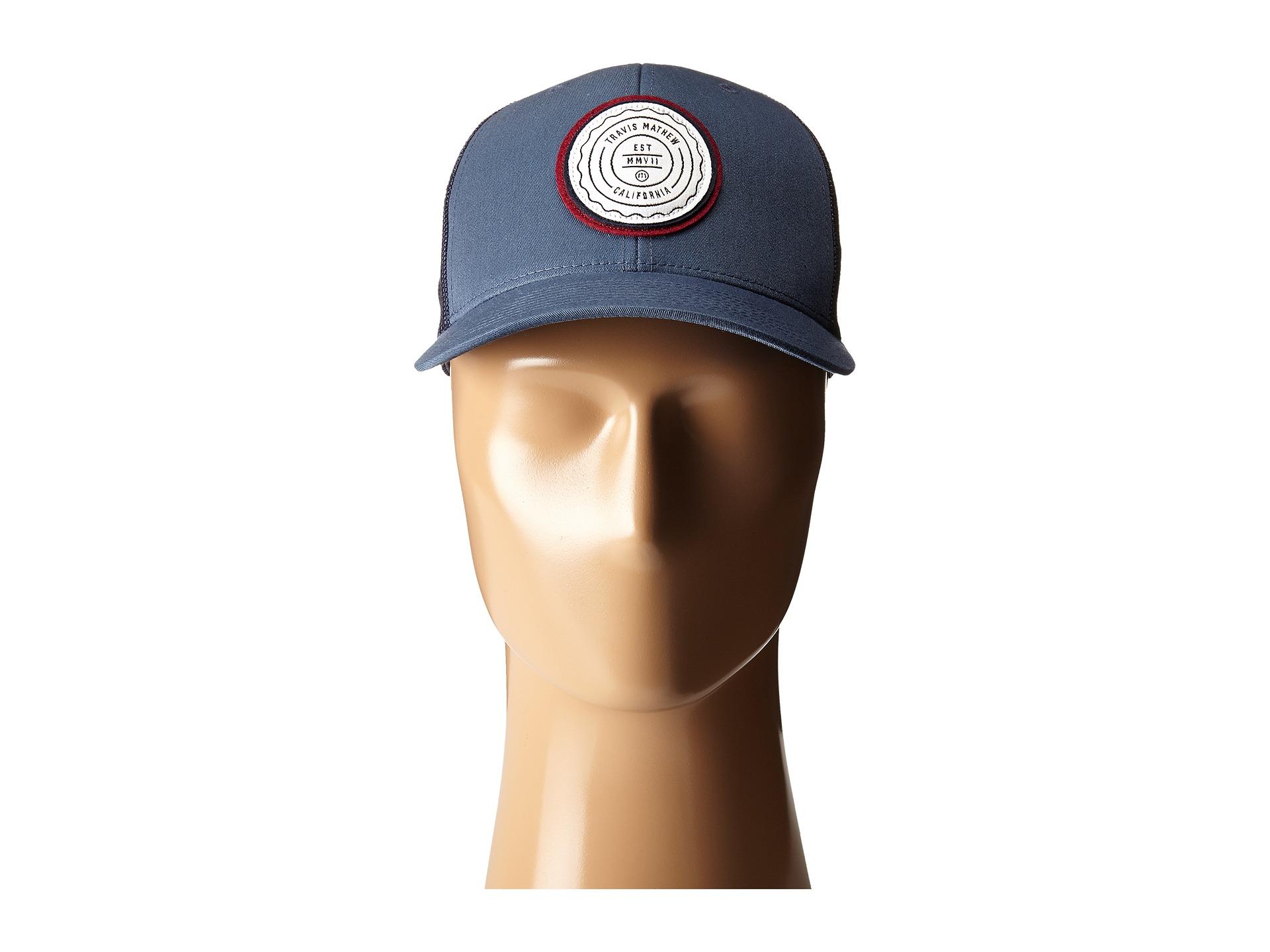 Lyst - Travis Mathew Fringe Hat in Blue for Men 8bb787a1d7b0