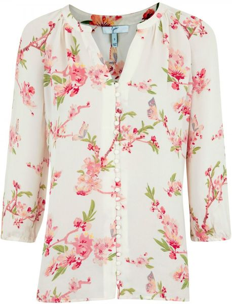 White Floral Blouse | Fashion Ql