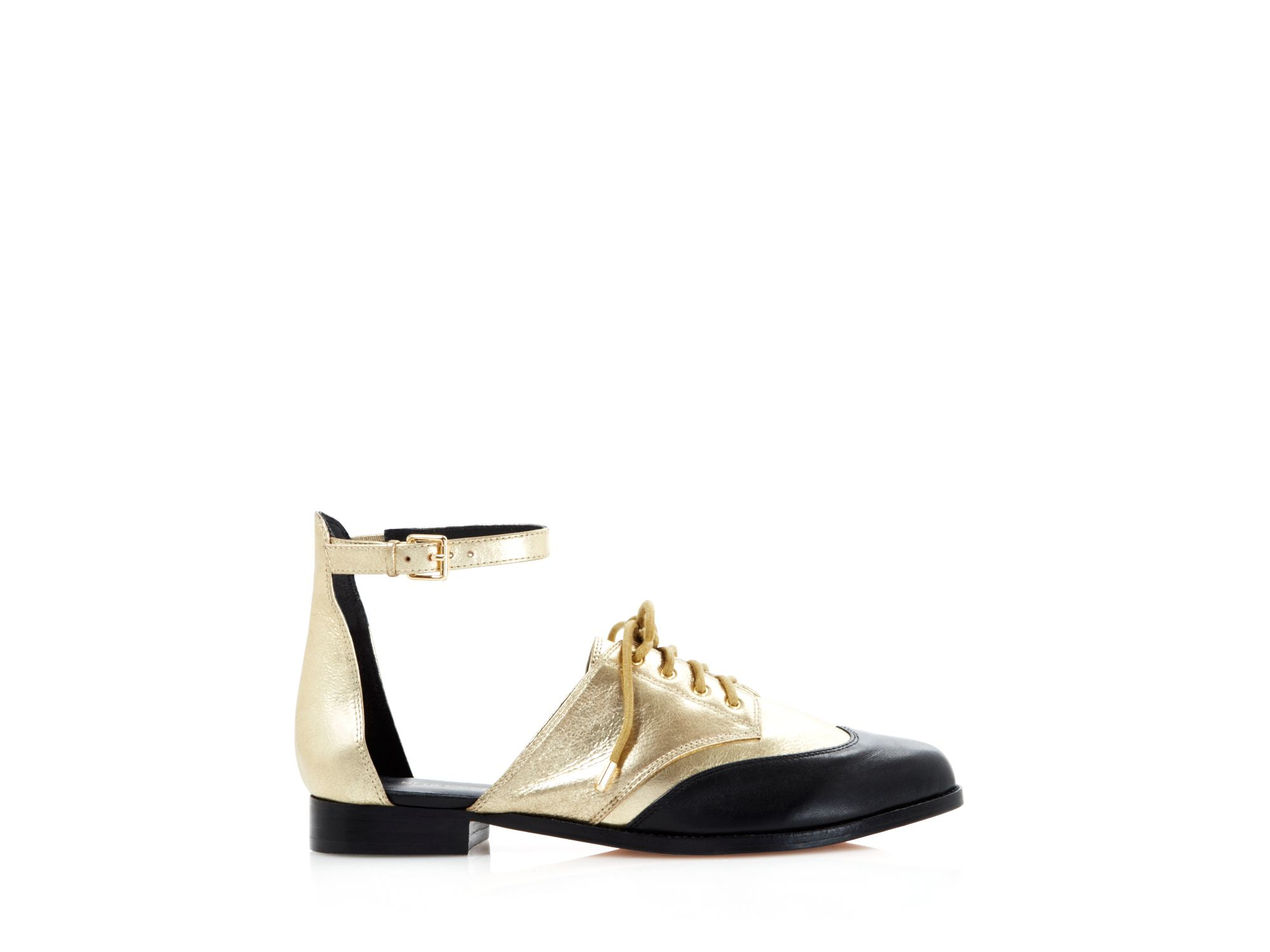 Rebecca Minkoff Metallic Ankle Strap Flats buy cheap looking for 2014 newest cheap online 4suxV