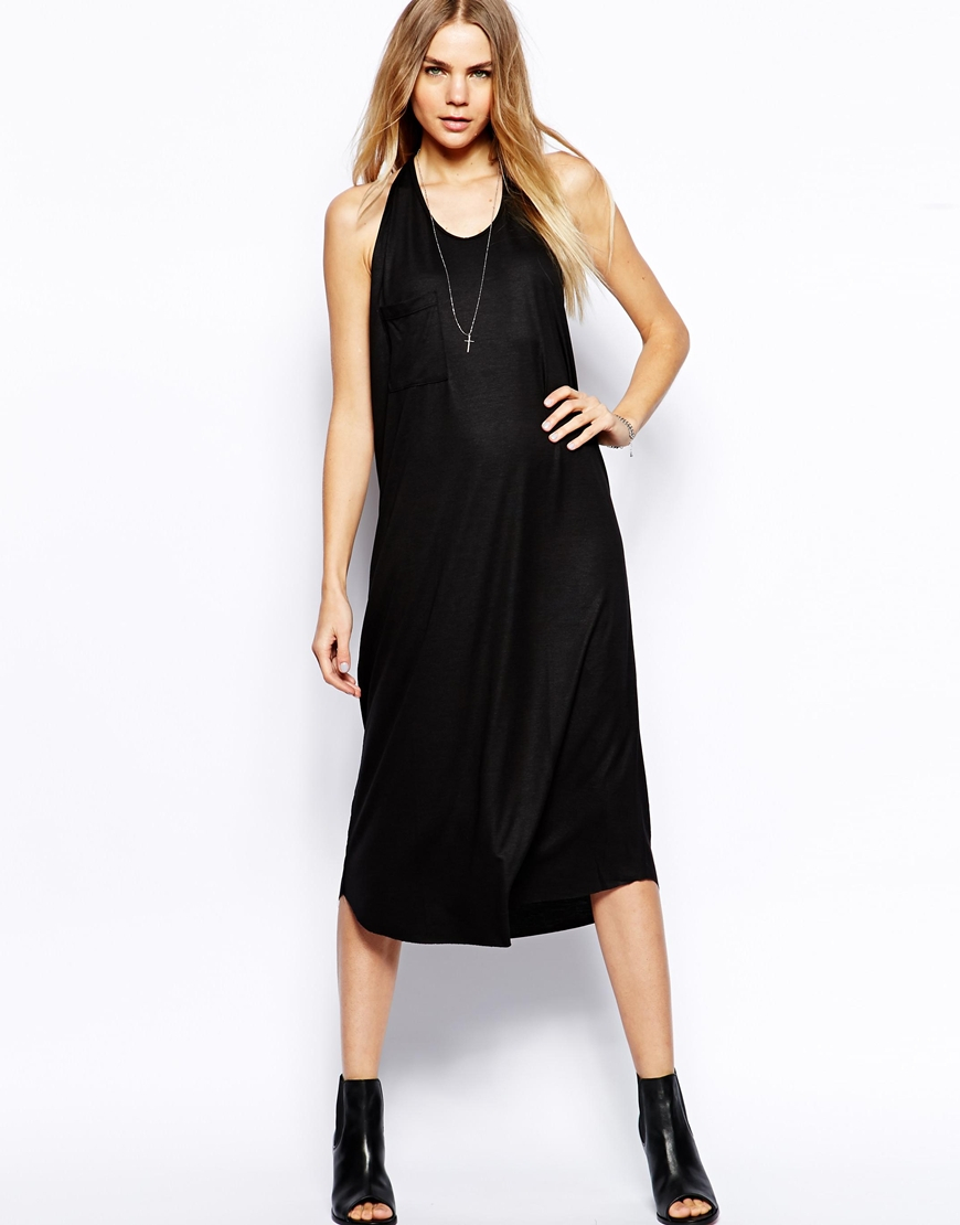 Galerry casual maxi dress with pockets