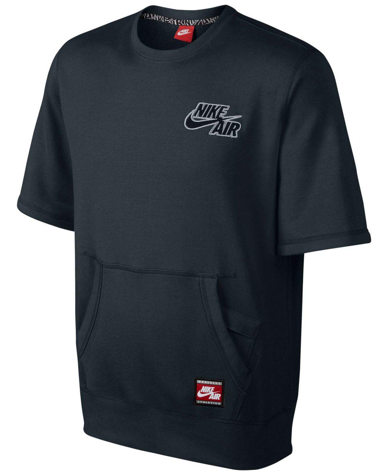 Air Men Lyst Short Black For Pullover Sleeve Nike Sweatshirt In Men s  ffqTxUwR feb76a70b