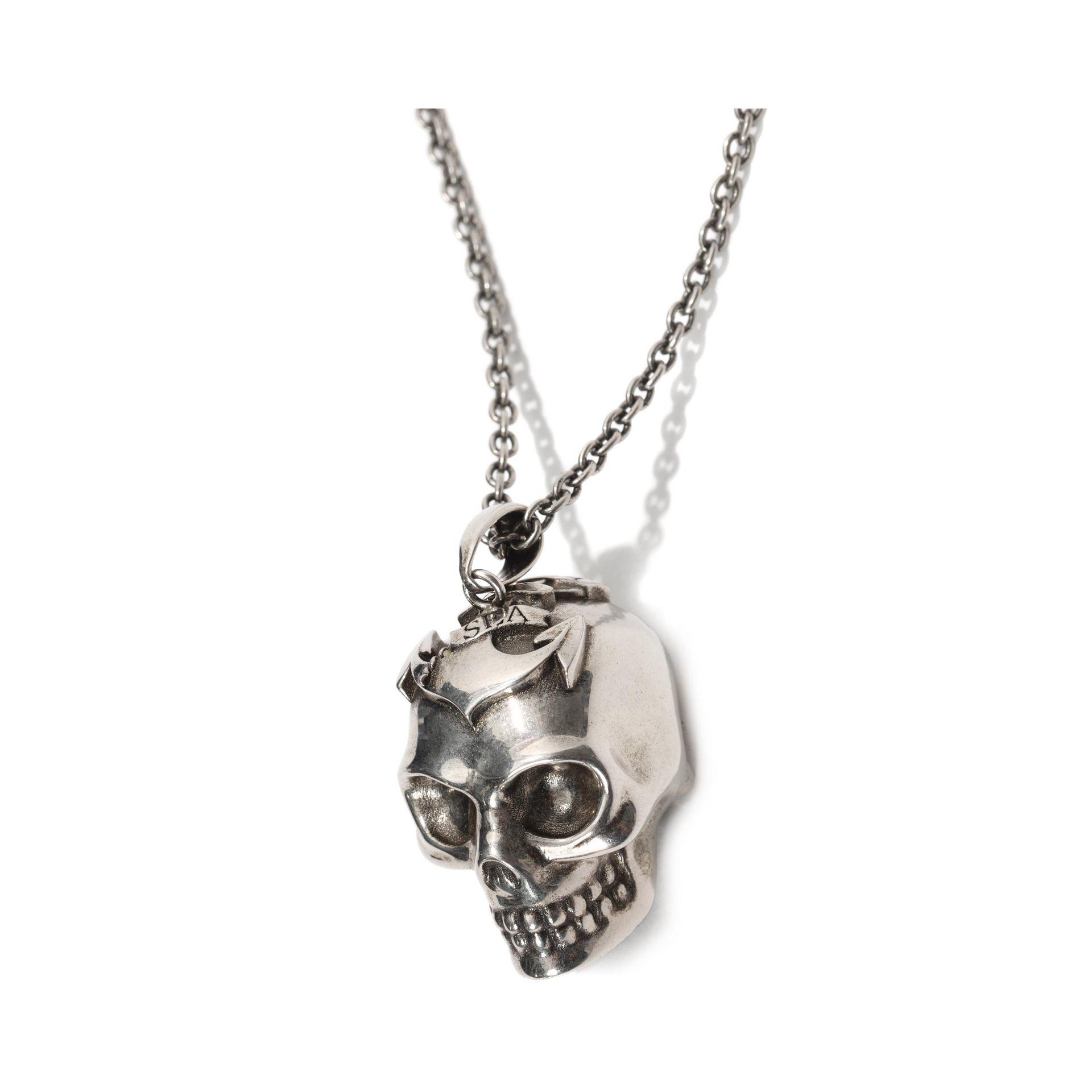 Alexander McQueen Anchor pendant necklace xnAQteEgL