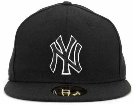 New Era New York Yankees Black And White Fashion 59fifty