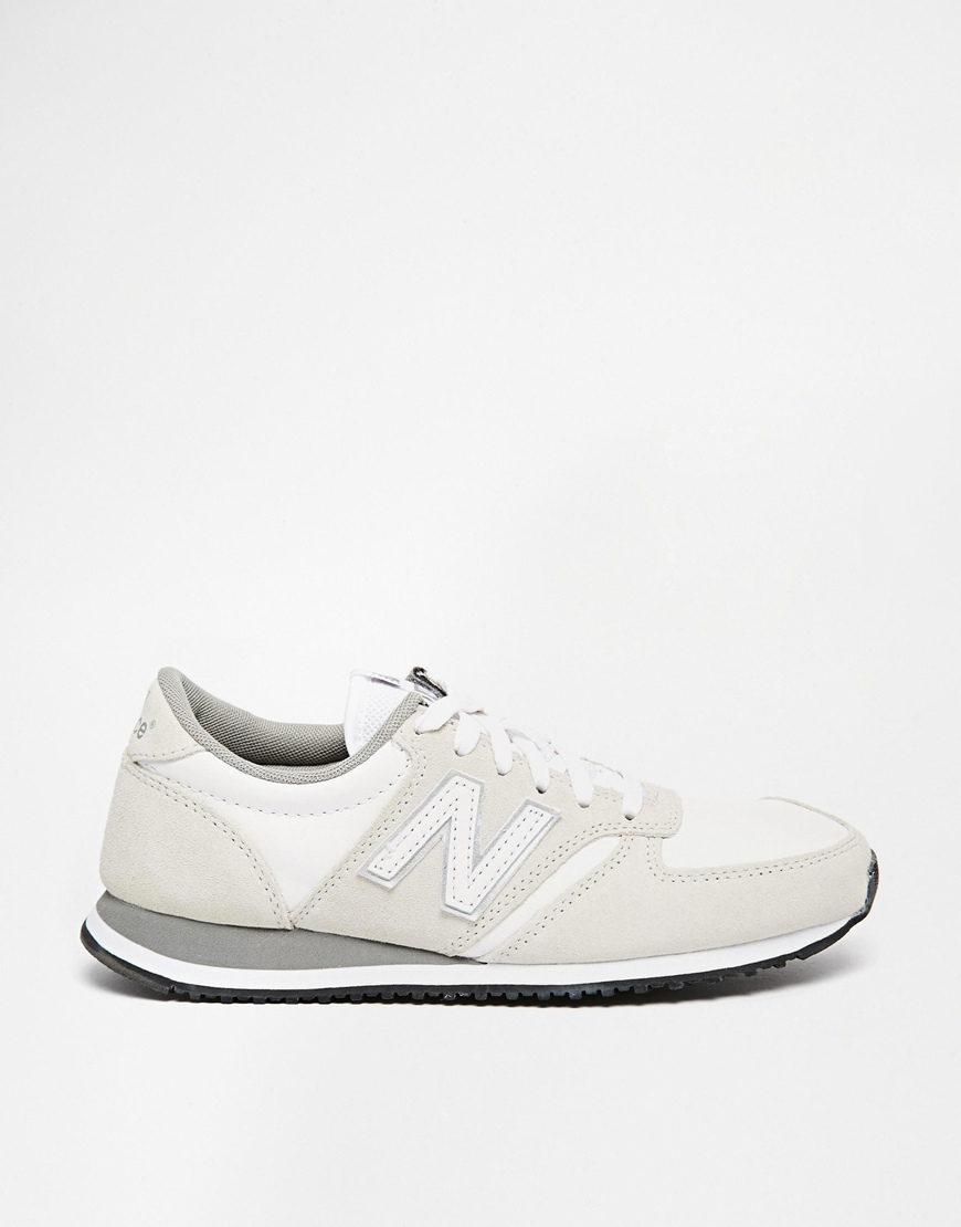 new balance 420 grey and black suede