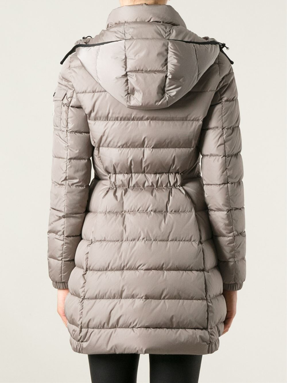 2716b33d1 Moncler 'Charpal' Padded Jacket in Natural - Lyst