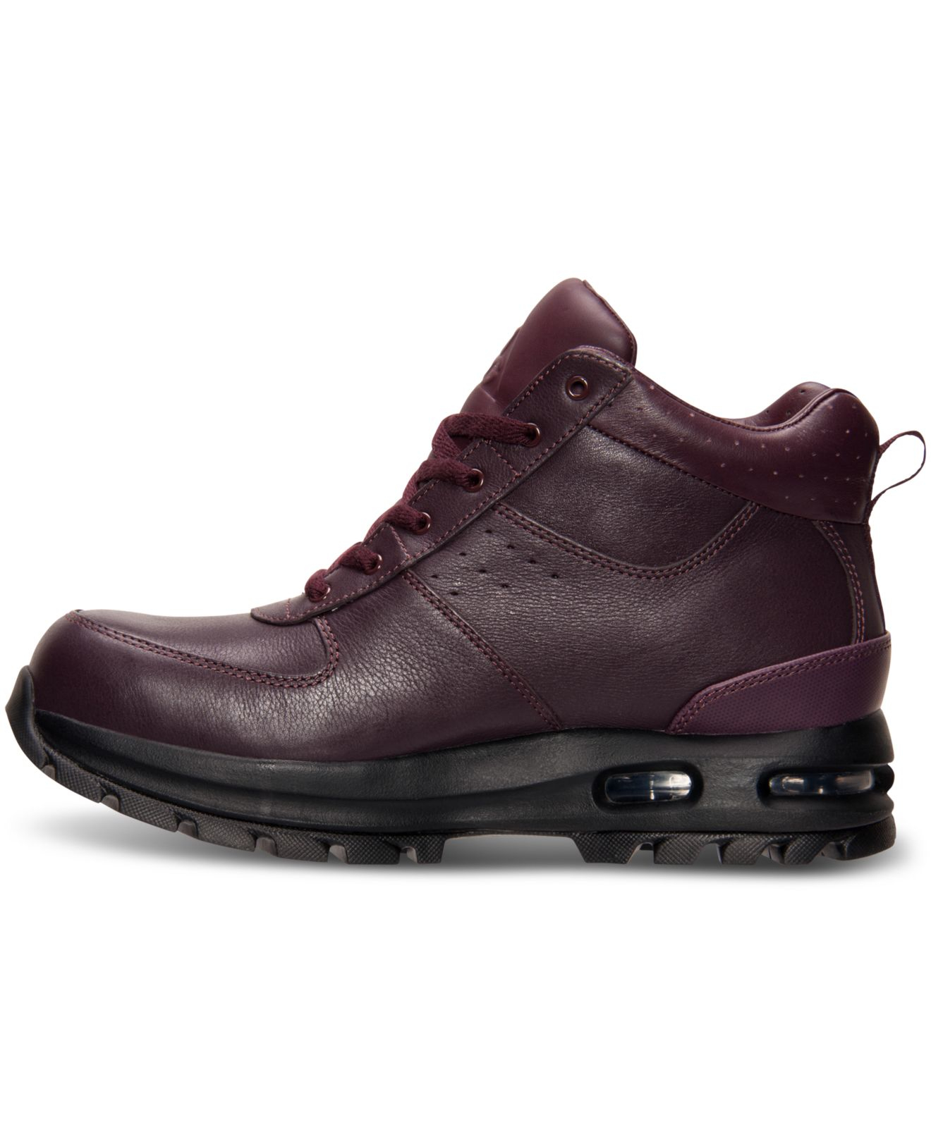 72d65887c8 Nike Men's Air Max Goaterra Boots From Finish Line in Purple for Men ...