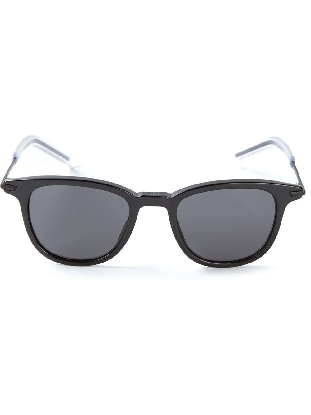 Dior Glasses Frame 2014 : Dior homme Wayfarer Frame Sunglasses in Black for Men Lyst