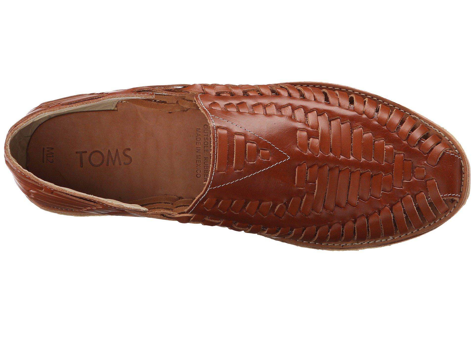 Toms Huarache Slip On In Brown For Men Lyst