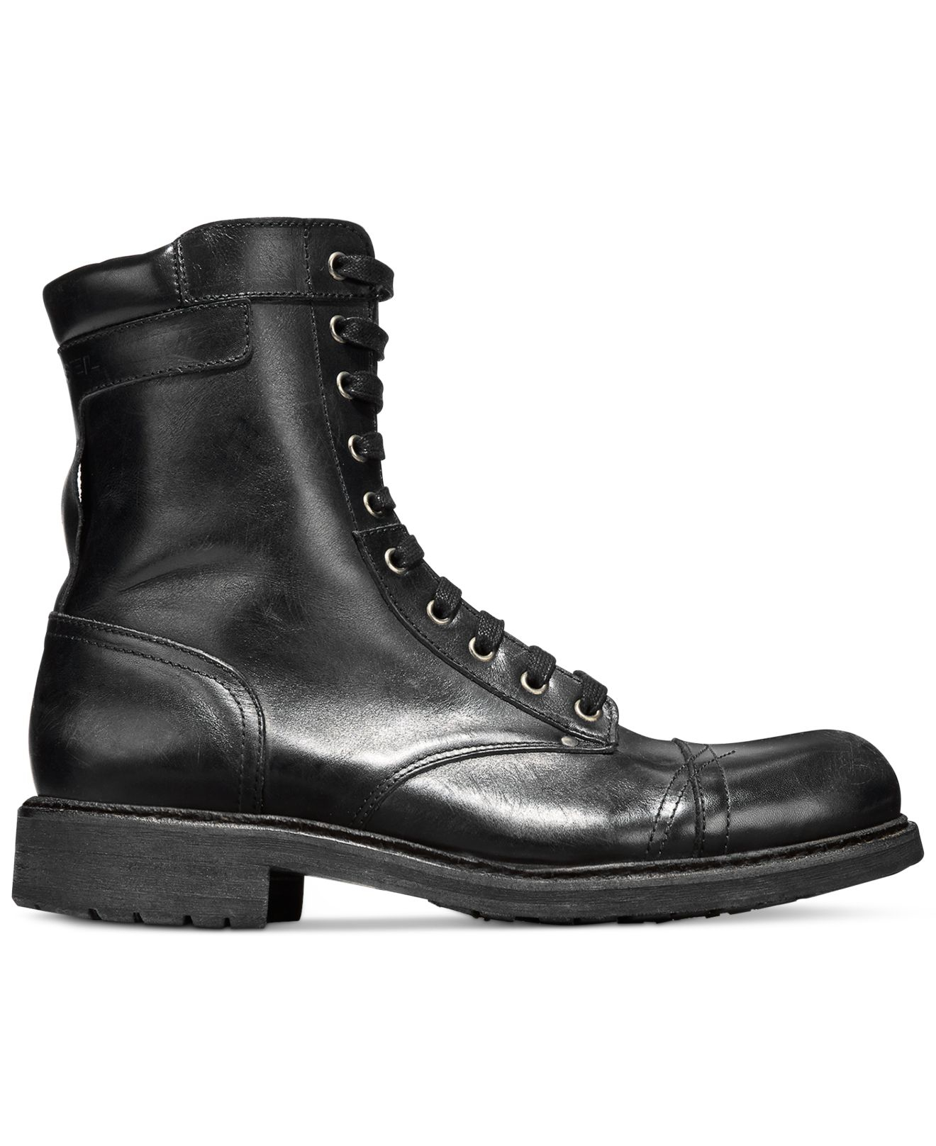 Lyst Diesel Hardkor D Tanker Boots In Black For Men