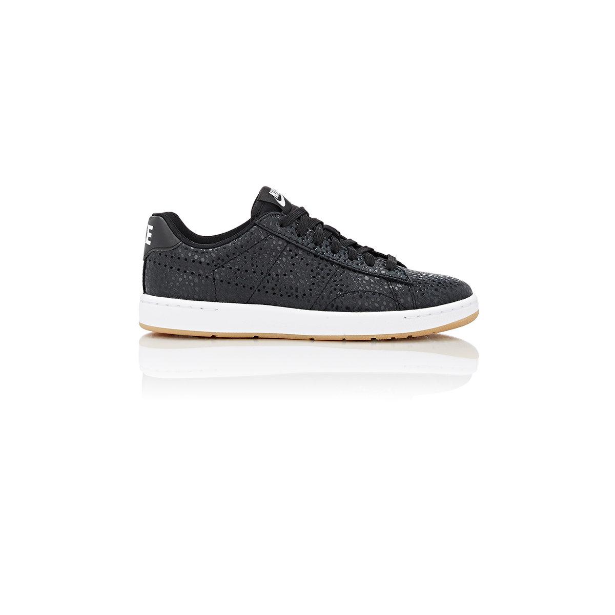 nike tennis classic ultra premium sneakers in black lyst. Black Bedroom Furniture Sets. Home Design Ideas