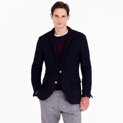 J.Crew Ludlow Fielding Blazer In Harris Tweed Wool in Navy (Blue) for Men