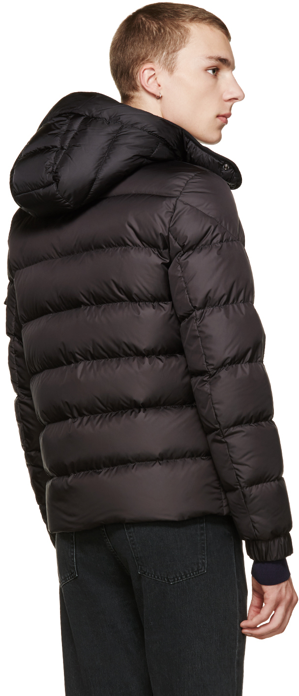 Moncler Black Nylon Down Himalaya Jacket