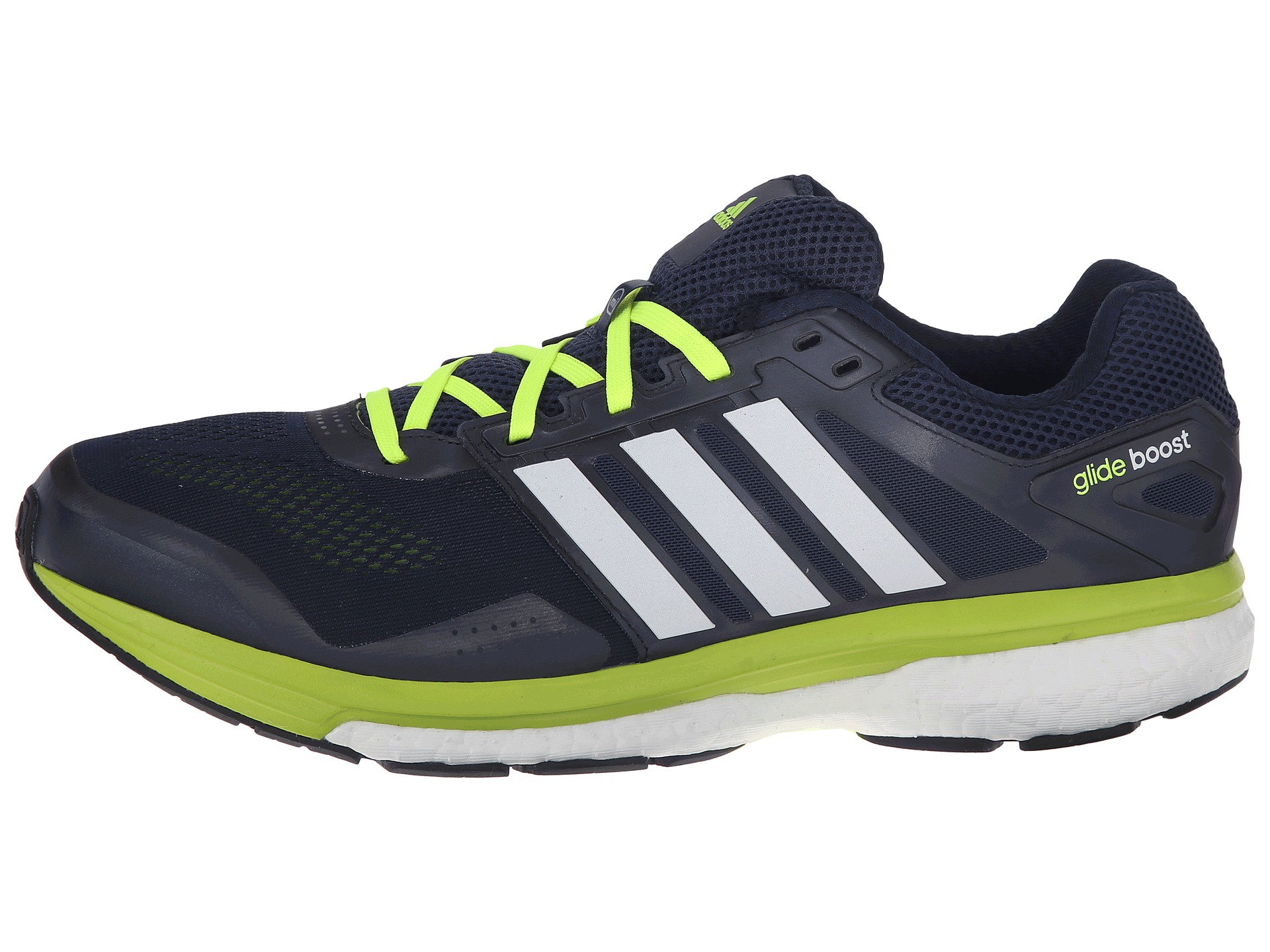 Men S Blue Adidas Glide Running Shoes Size