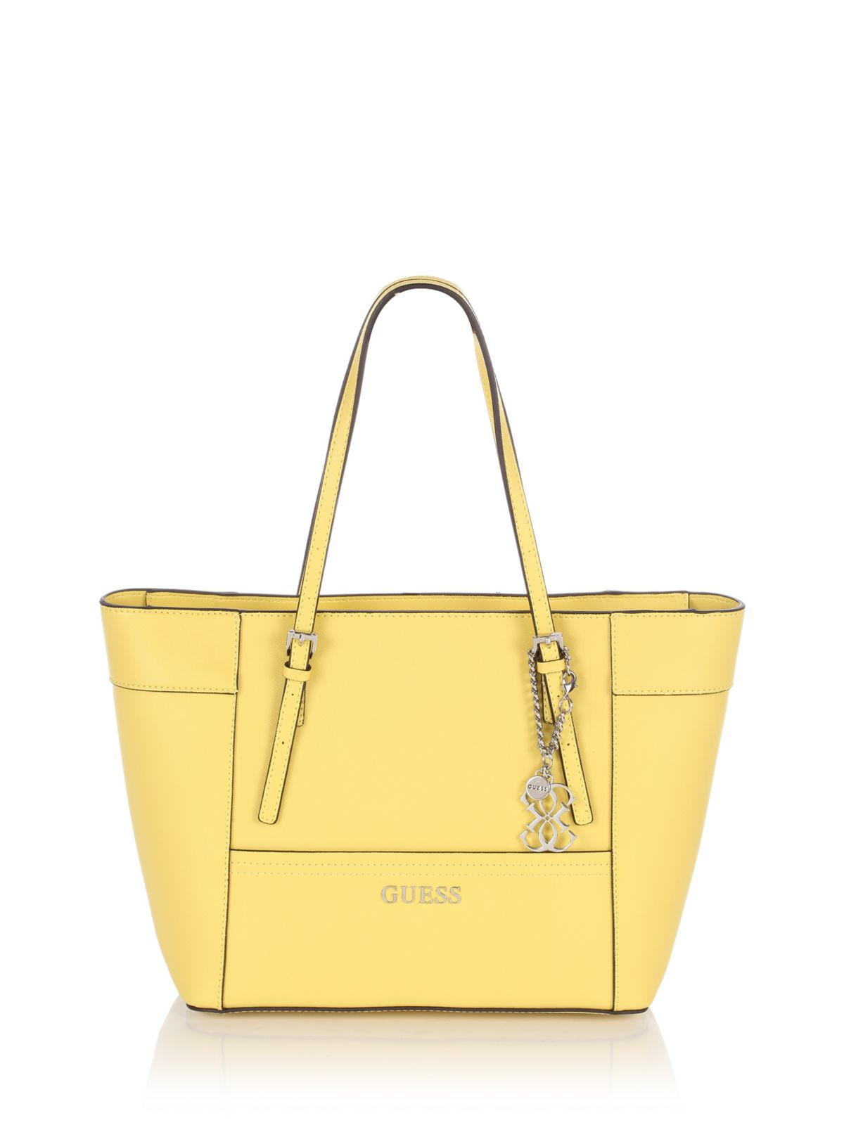 Guess Delaney Small Classic Tote Bag in Yellow 1a9f0135a2466