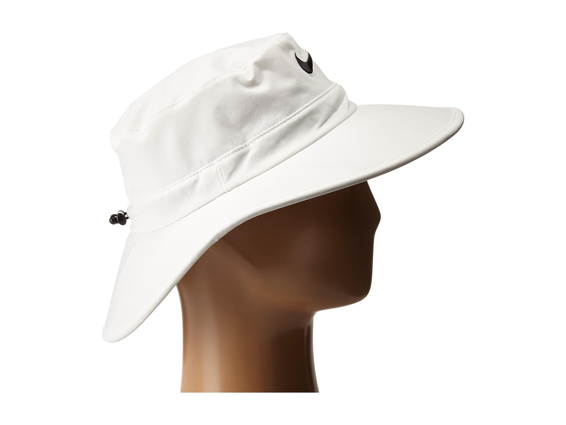 676de2f0 Nike Sun Protect Bucket Cap in White for Men - Lyst