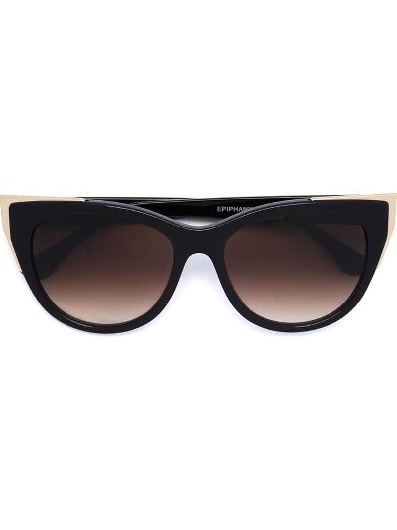 Thierry lasry 'epiphany' Sunglasses in Black