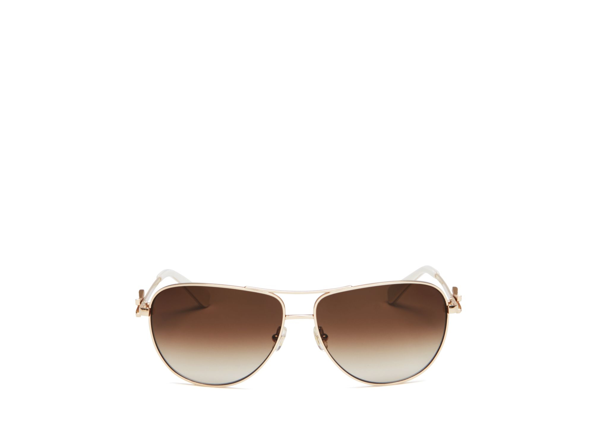 753d04239d Lyst - Kate Spade New York Circe Aviator Sunglasses