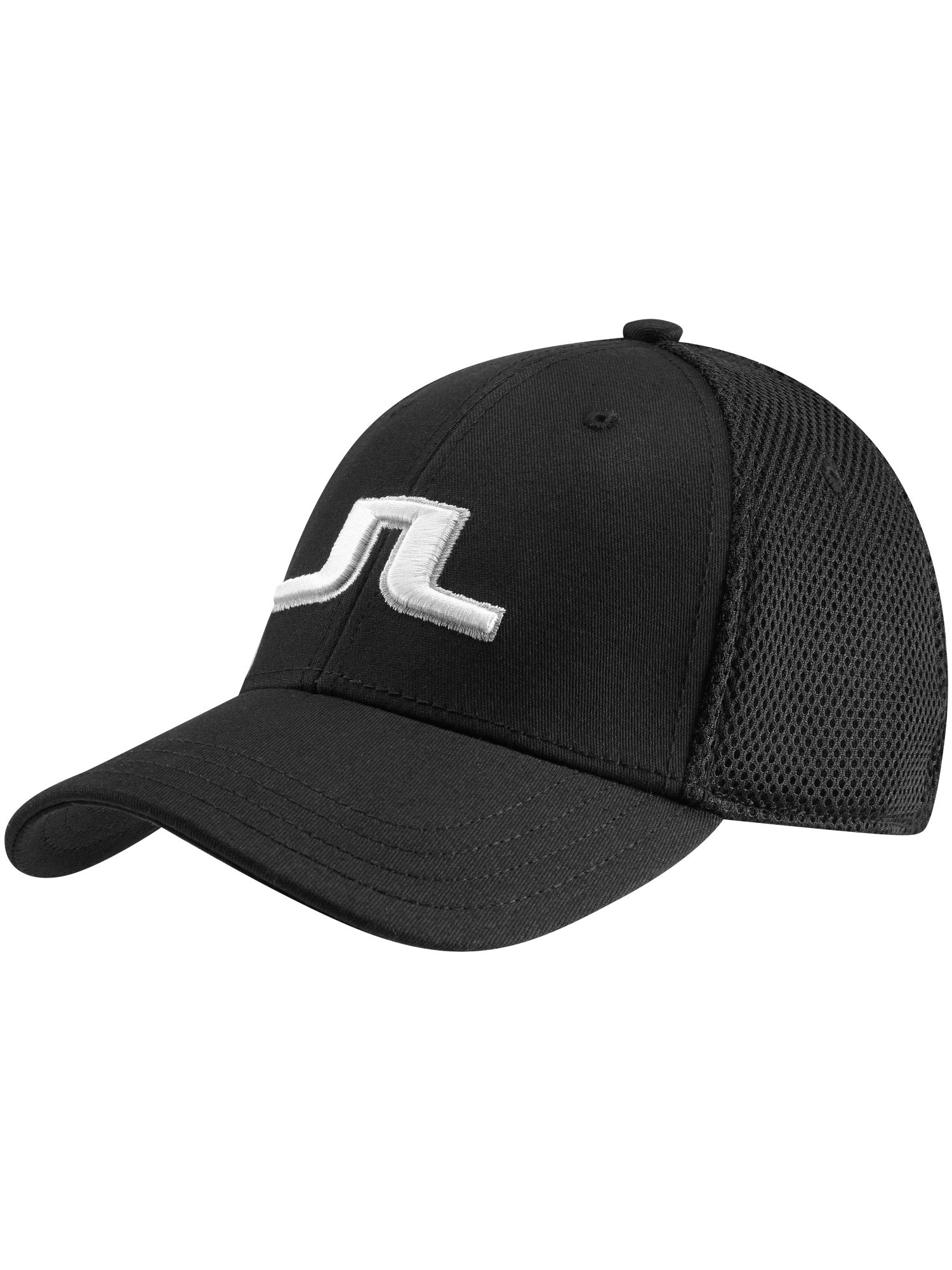 J Lindeberg Bon Flexi Twill Cap In Black For Men Lyst