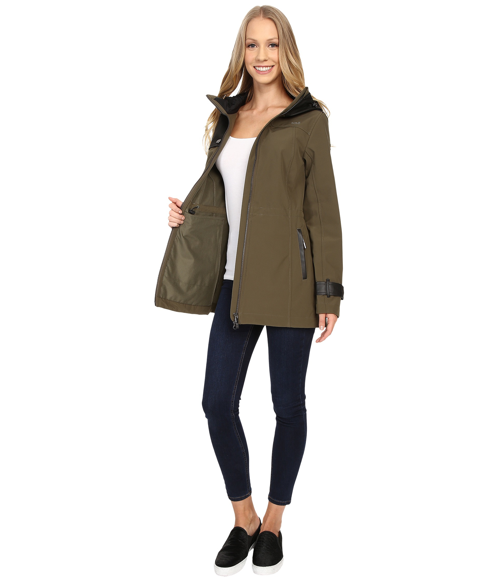lol 235 promise jacket in brown lyst