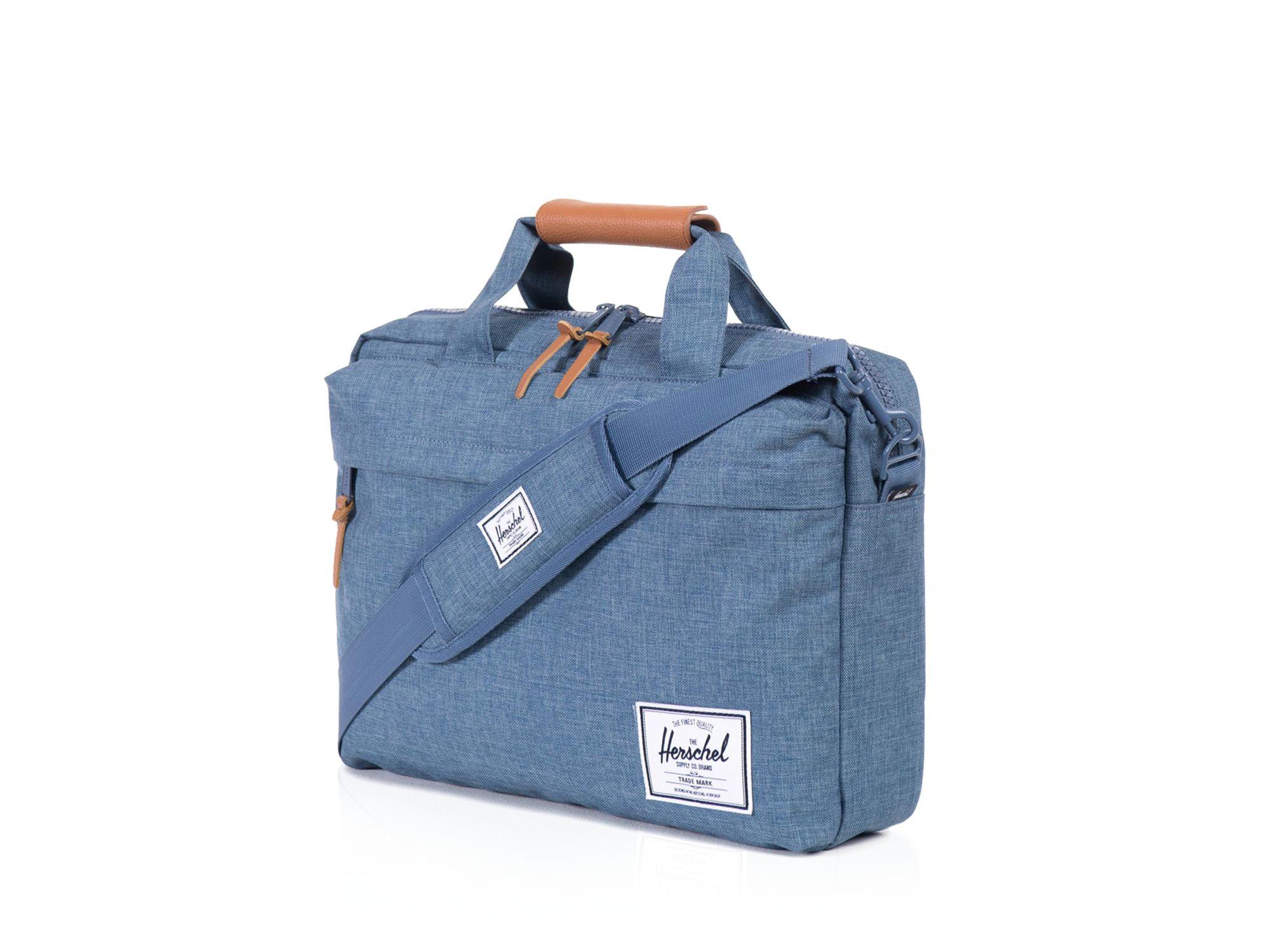 Herschel Supply Co Clark Messenger Bag In Blue For Men Lyst