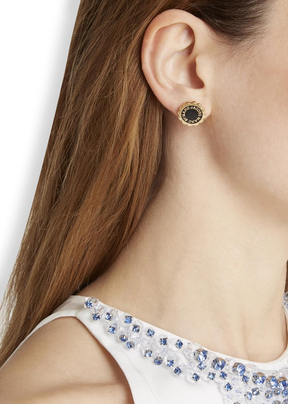 701256552 Gallery. Previously sold at: Harvey Nichols · Women's Logo Earrings
