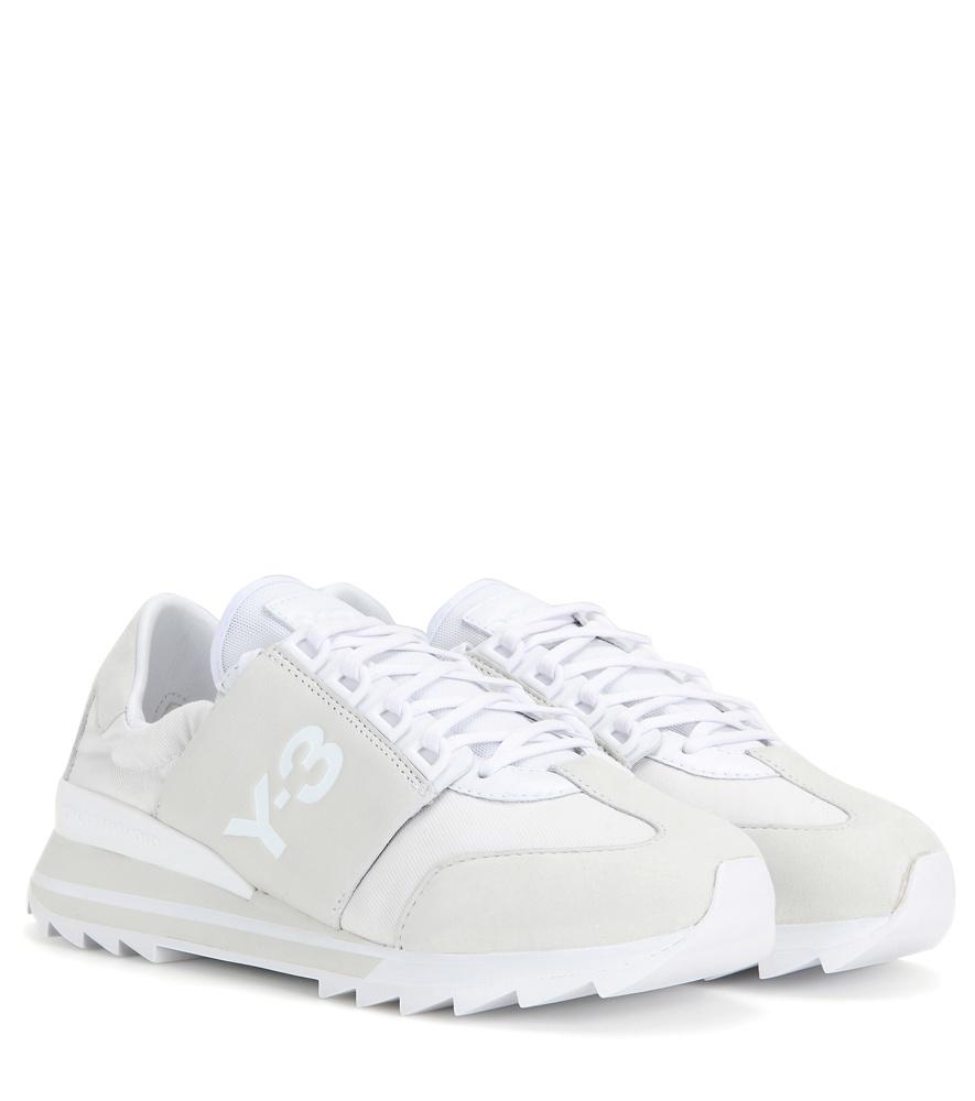 Lyst - Y-3 Rhita Sport Sneakers in White 199a2af96a88