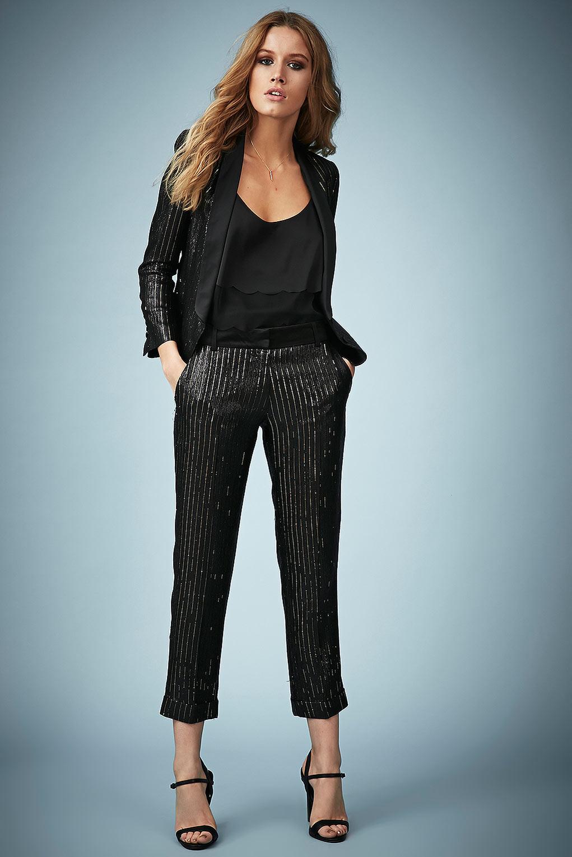 efc725f81 TOPSHOP Metallic Womens Lamé Tuexdo Suit Jacket By Kate Moss For Gold